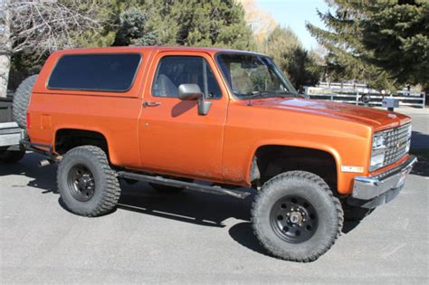 Power Blazer X8 Chevrolet Blazer Convertible 1991 Orange For Sale
