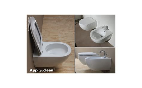 clean bathroom app goclean the system designed by flaminia that makes the toilet cleaning simply and rapid