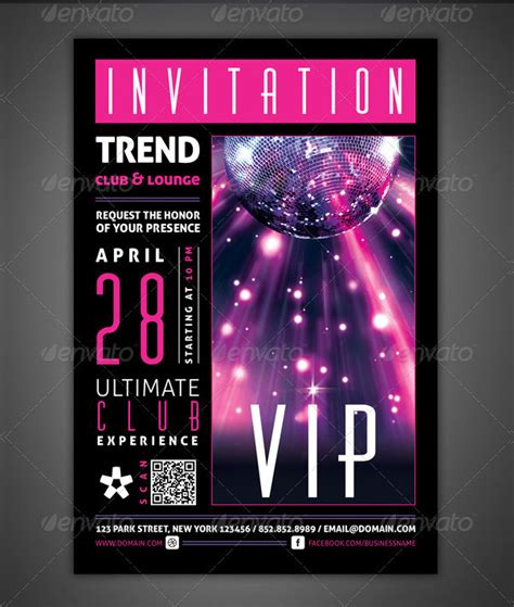 Vip Invitation Card Template by 23 Vip Card Templates Free Premium