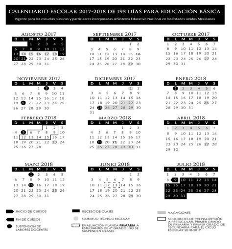 Calendario Escolar 2017 Miami Diario Oficial Dof On Quot Calendario Escolar 2017