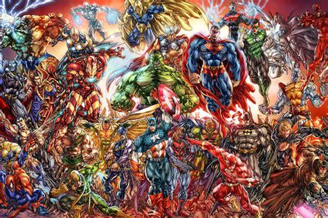 dc universe  marvel comics wallpaper  android