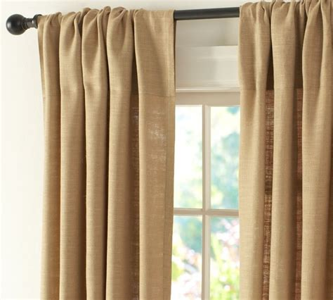 images of burlap curtains pottery barn burlap curtains pretty little home pinterest