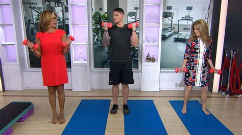 kathie lee gifford exercise video exercise like hoda kotb in 3 minutes or less with this