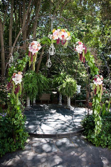 Wedding Ceremony Arbor by Ceremony Flowers Wedding Arbor