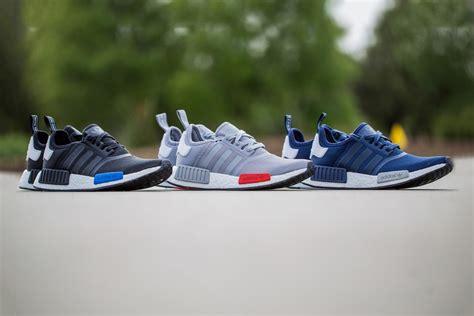 Sepatu Sneakers Adidas Nmd Black Grey adidas nmd mesh black grey navy sneaker bar detroit