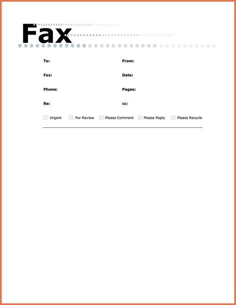 microsoft office fax cover sheet templates resume acierta us