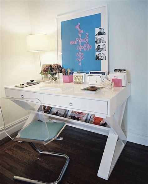 Lucite Office Desk Lucite Desk Chair Contemporary Den Library Office Lonny Magazine