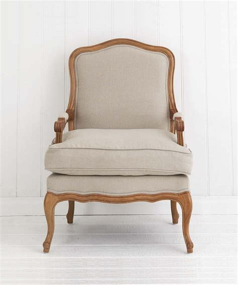 french linen armchair french linen armchair