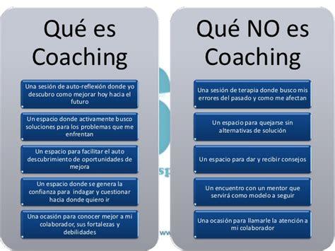 que es el couching presentaci 243 n del proceso de coaching organizacional
