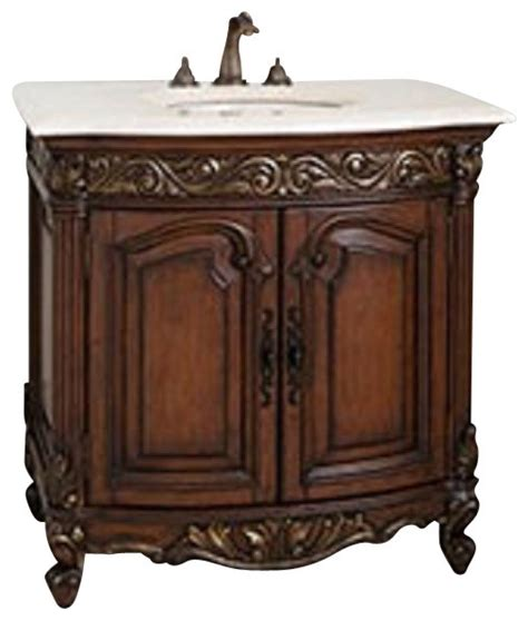 Ambella Bathroom Vanities Ambella Home Collection Provincial Sink Chest Traditional Bathroom Vanities And Sink