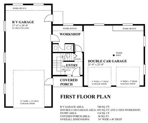 Garage Plan 76023 At Familyhomeplans Com