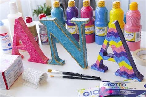 decoracion de letras en carton 3d letras de cart 243 n en 3d para decorar pequeocio