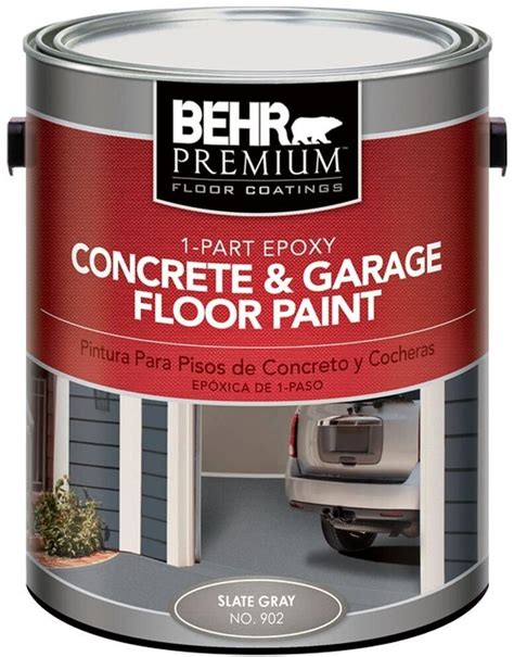 NEW 2 PACK Epoxy Concrete Slate Gray 902 1 Part and Garage