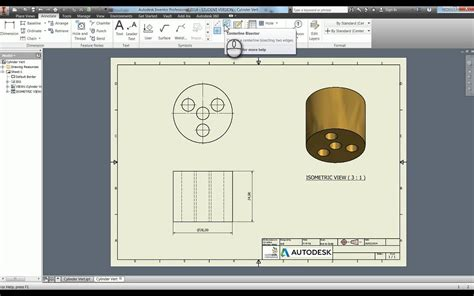 autodesk templates creating technical drawings in autodesk inventor 2014