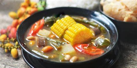 masak sayur asem  enak segar  mudah ala