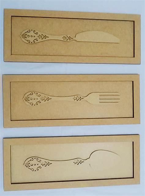 decorarte laser quadro talheres decora 231 227 o para cozinha decorarte laser