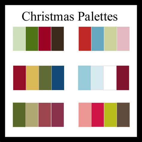 christmas color palette charming bliss charming bliss blog 6 christmas color