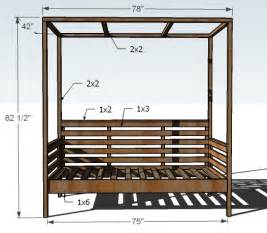 Diy Daybed Bench White Outdoor Daybed With Canopy Diy Projects
