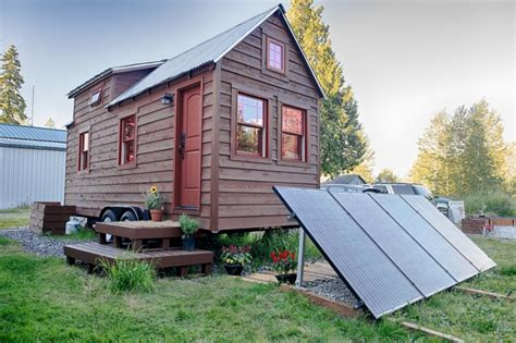 Mobile Tiny Home Plans Mobile Tiny Tack House Is Entirely Built By Hand And