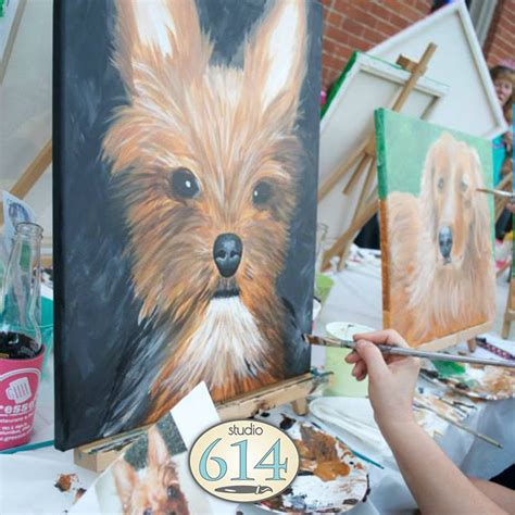 muse paintbar paint your pet paint your pet studio 614