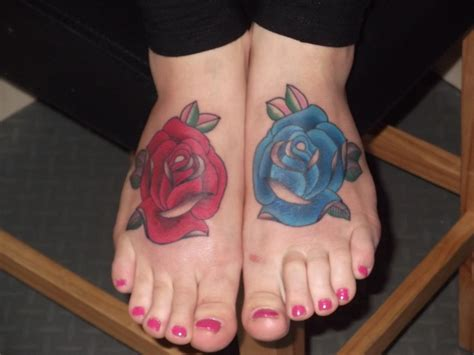 tattoo rose on foot awesome images part 20 tattooimages biz