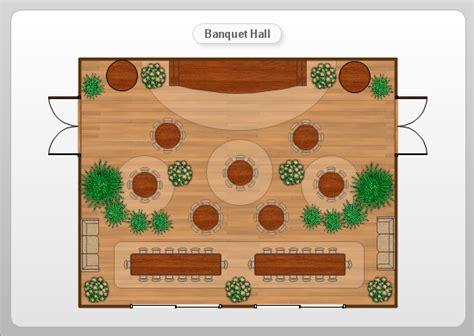 banquet layout software banquet hall floor plan exle