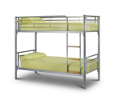 metal bunk beds julian bowen atlas kids metal bunk bed