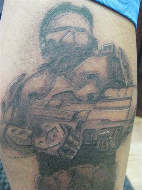 ghost dog tattoo master chief img