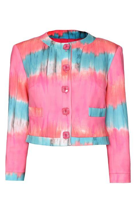 lakeland multicolour tie dye jacket lyst