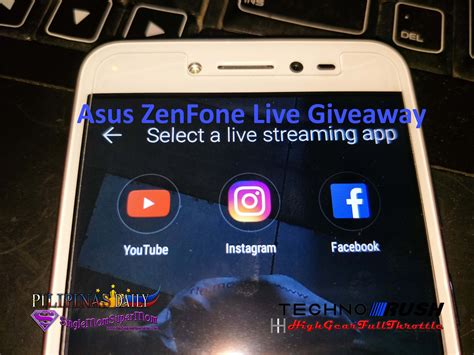 Asus Giveaway 2017 - asus zenfone live giveaway pilipinas daily