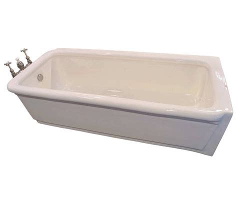 bathtub porcelain pristine porcelain bathtub with original nickel plated