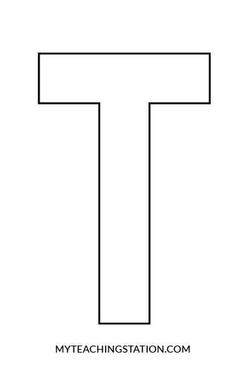 letter t template t letter template letter template 2017