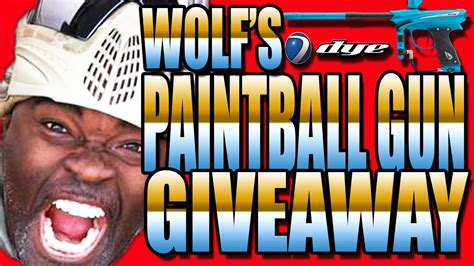 Paintball Giveaway - paintball gun giveaway contest youtube
