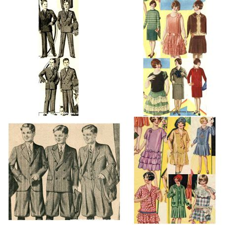 1920 childs hairstyle twenties kids clothes final exle from 1928 and 1929