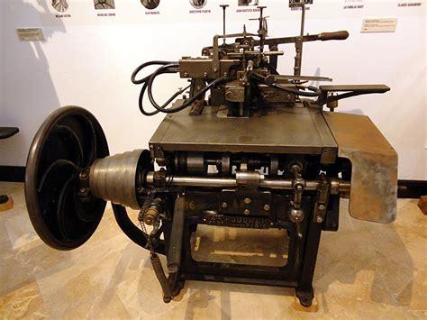 imagenes de imprentas antiguas y modernas encajabaja dise 241 o period 237 stico prensa el museo de la