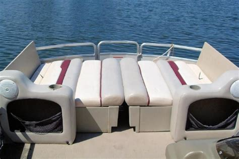 pontoon boat bed liner pontoon seat that converts to a bed boat pinterest