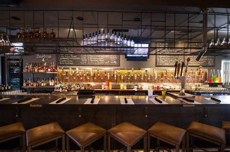 Fine Dining Room Furniture Brands bar hospitality lighting design of tap 42 bar and kitchen