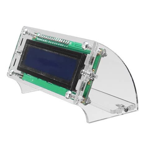 Lcd1602 Lcd 1602 Yellow And Green Screen With Backlight Lcd Display lcd1602 lcd shell for 1602 blue yellow and i2c 1602 blue