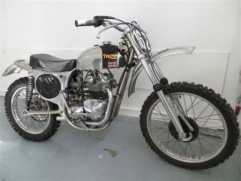 triumph motocross bike triumph i think this is a cheney framed 500 triumph