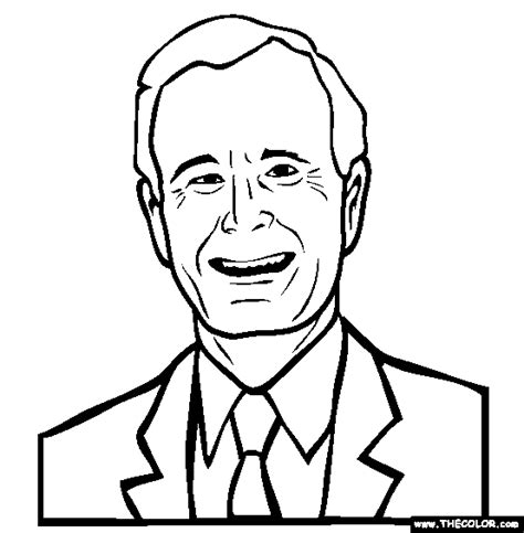 George W Bush Coloring Page by Coloring Pages Starting With The Letter G