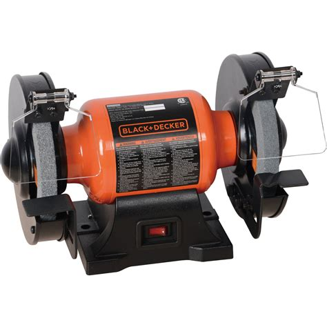 black and decker grinder black decker 1 8 6 in bench grinder bg1500bd fast