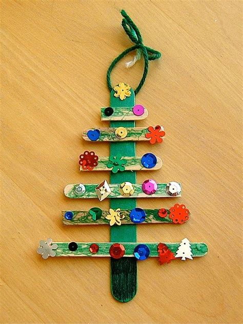 popsicle stick christmas tree pictures photos and images