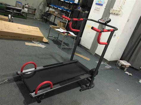 Alat Fitnes Lari alat fitnes untuk lari treadmill manual terbaru treadmil 002
