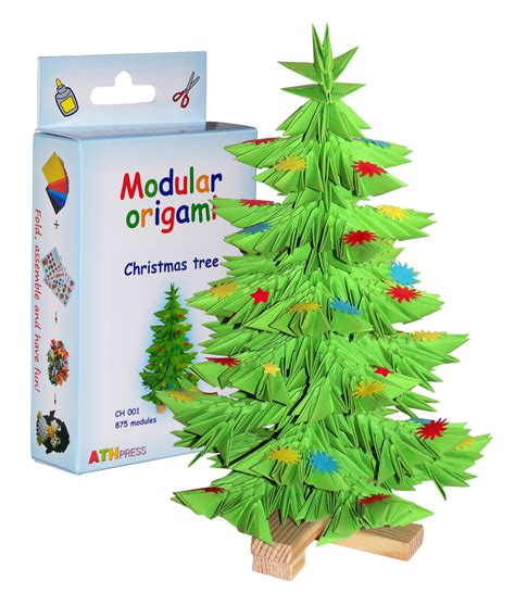 Origami Pine Tree - origami d origami modulars origami pine tree