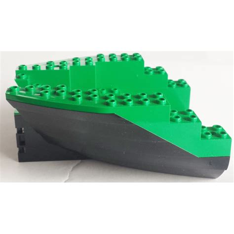 lego boat hull lego boat stern 12 x 14 x 5 1 3 hull inside assembly