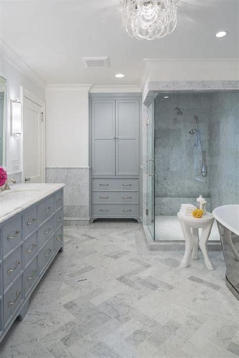 honed marble bathroom best 25 herringbone marble floor ideas on pinterest
