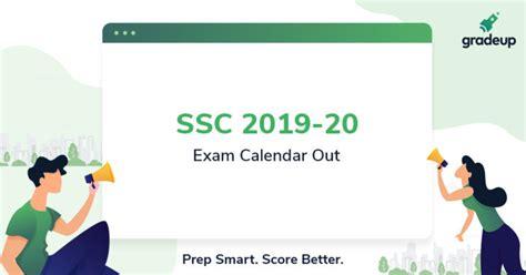 ssc calendar     ssc exam calendar  ssc railway