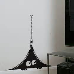 Funny monster wall decal ideas home design ideas
