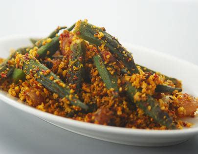 spicy bhindi andhra style recipe