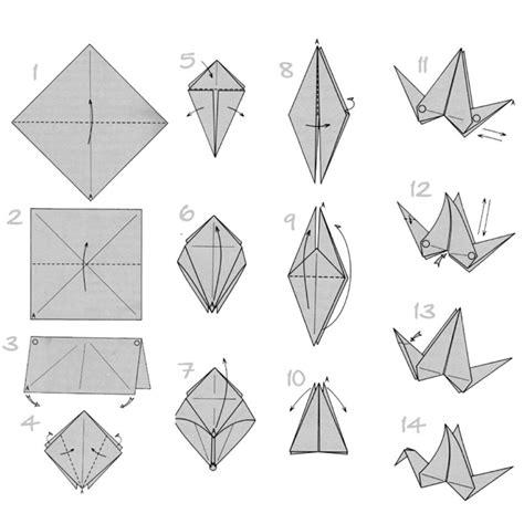 Origami Schwan - mit origami papier basteln die beste origami
